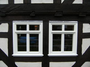 Holzfenster